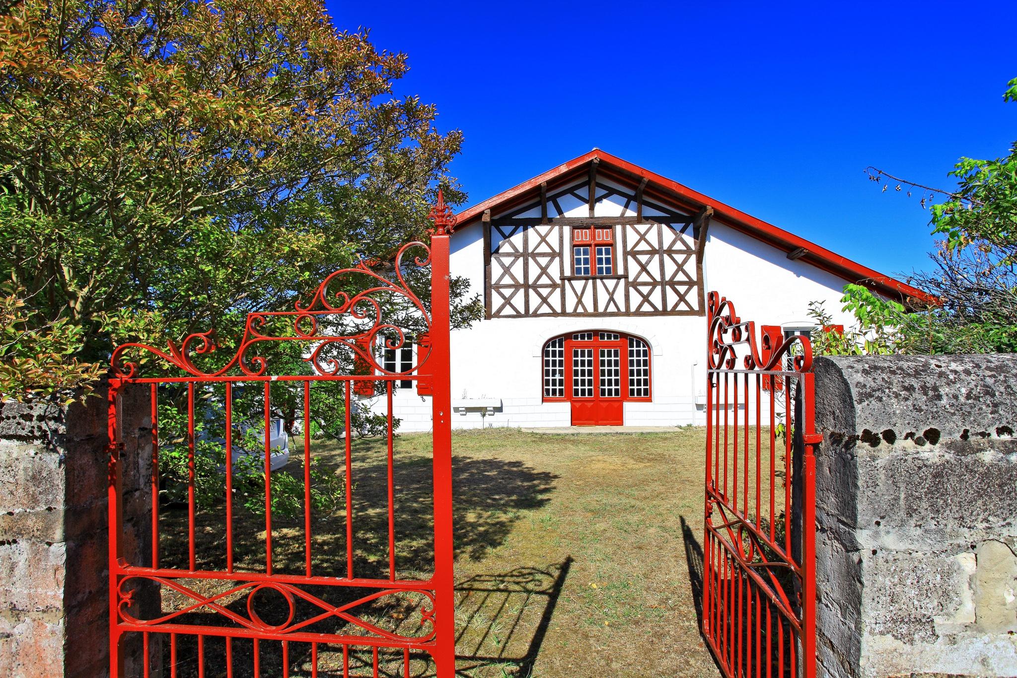 Maison landaise typique et authentique des Landes