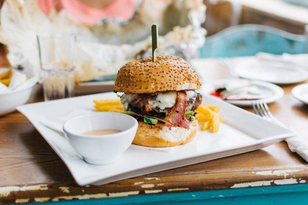 Burger und Tapas