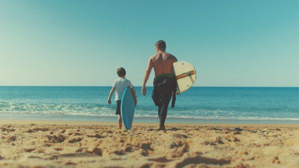 Surfen und Boardsport