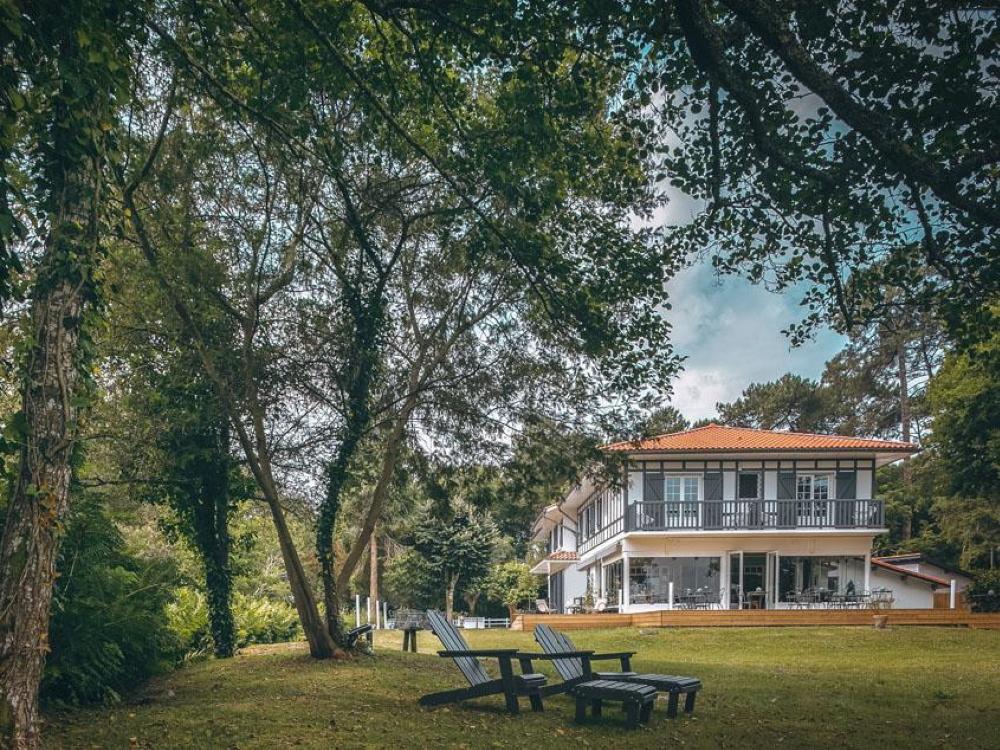 Villa de l'étang blanc seignosse (3)
